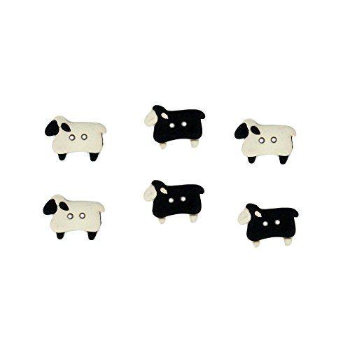 Jesse James Buttons ~  Dress It Up SEW THRU SHEEP 5832 ~Sew Craft Quilt Scrap