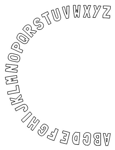 Alphabet Arc for Letter Recognition Fluency