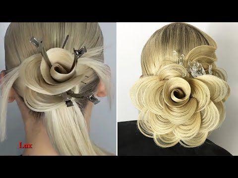 Beautiful Hair Transformation Which You Will Love Youtube Chignon Mignon Idee Chignon Tutoriels Coiffure