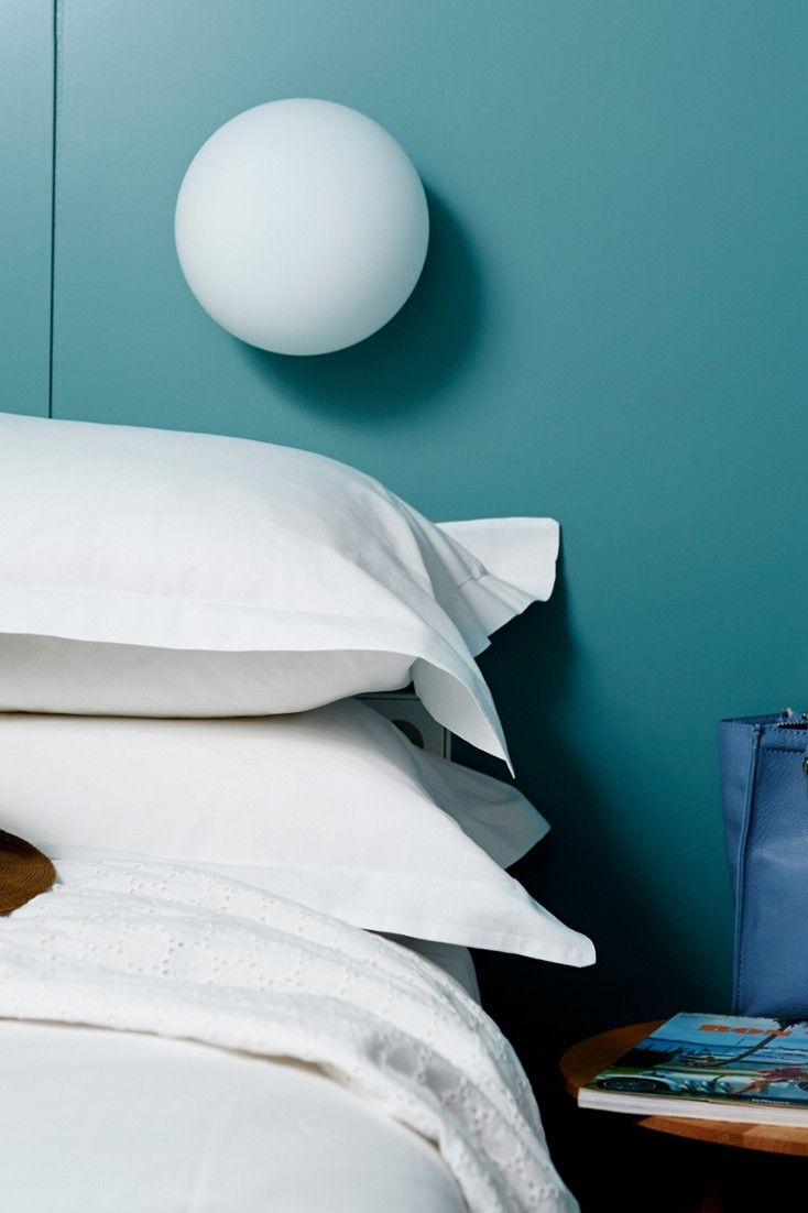 The rooms are minimalist and chic with homey touches. #Jetsetter