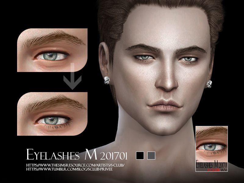 Eyelash for men, simple naturel look, hope you like, thank ...