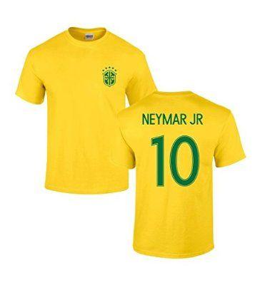 de97b7366 Brazil National Team Copa America 2016 Neymar JR  10 T Shirt