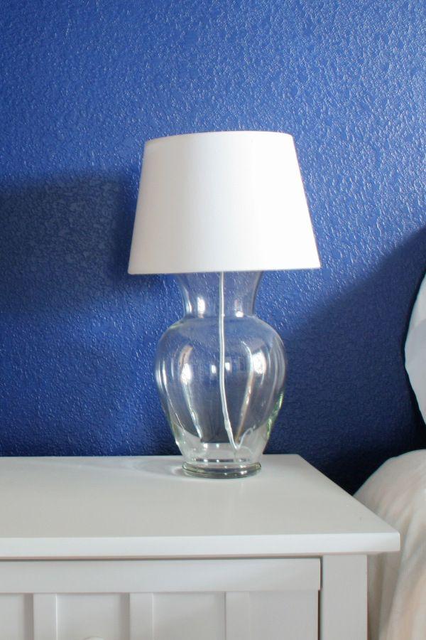 Diy Glass Vase Lamp