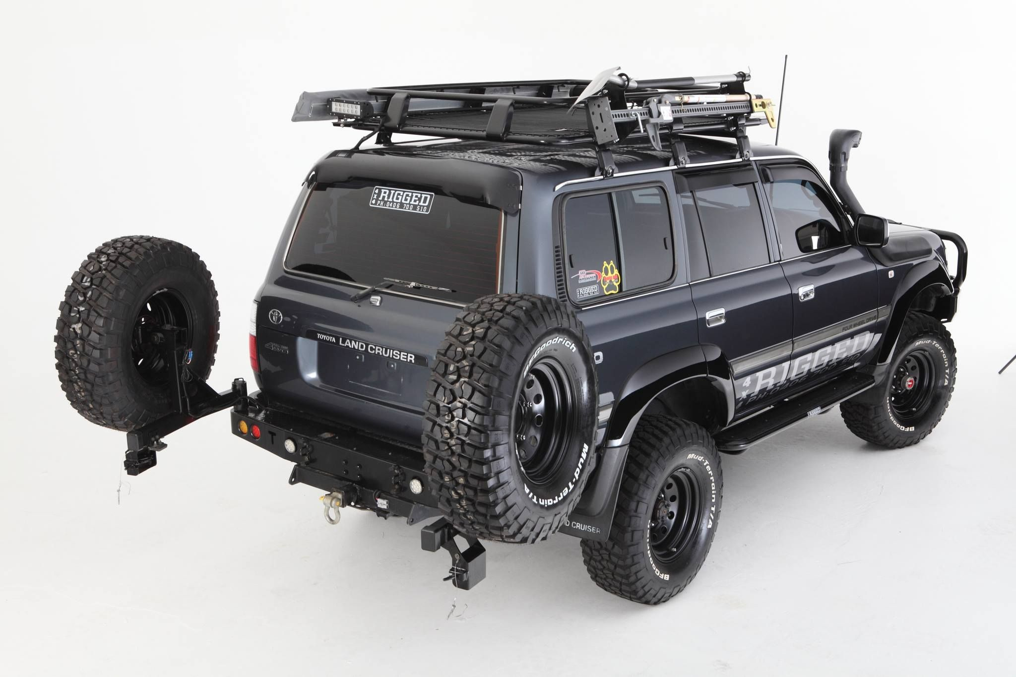 Toyota Hdj 80 Off Road 4x4 Travel Overland And