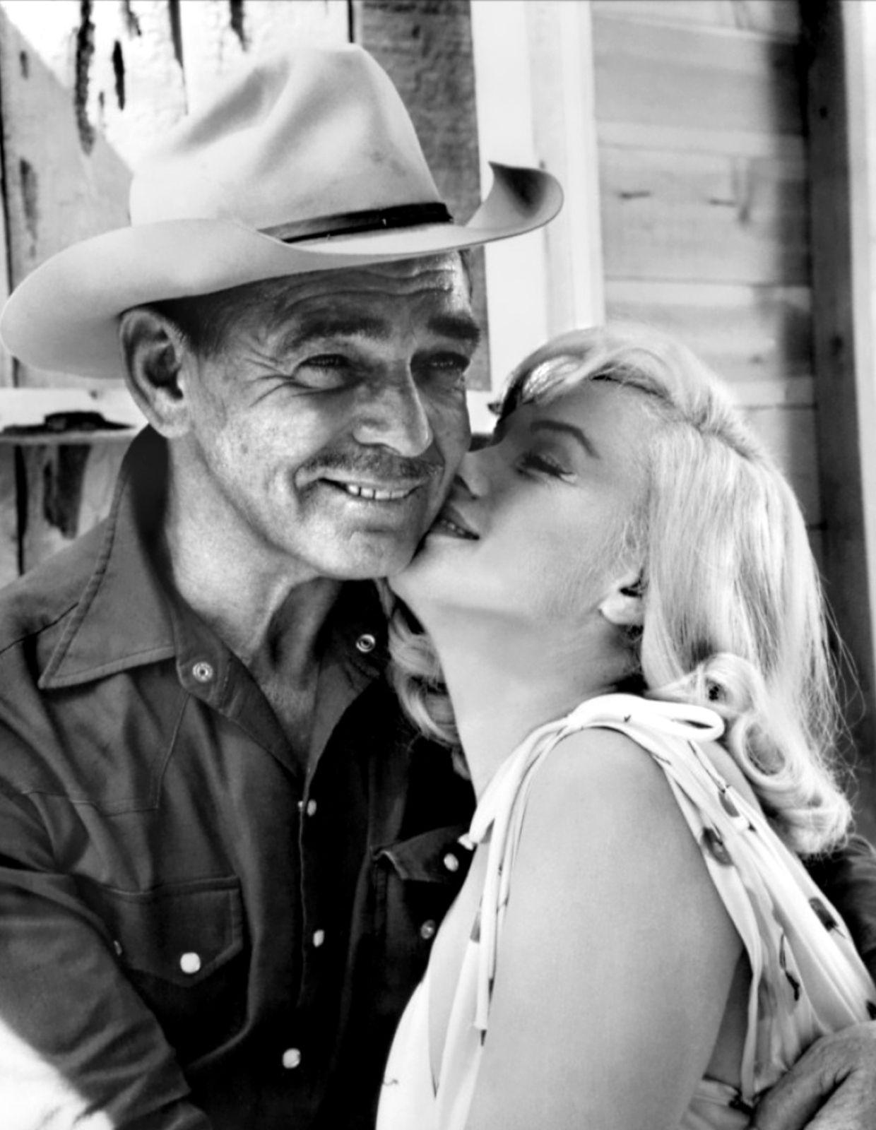 Clark and Marilyn in The Misfits Marilyn Rare marilyn