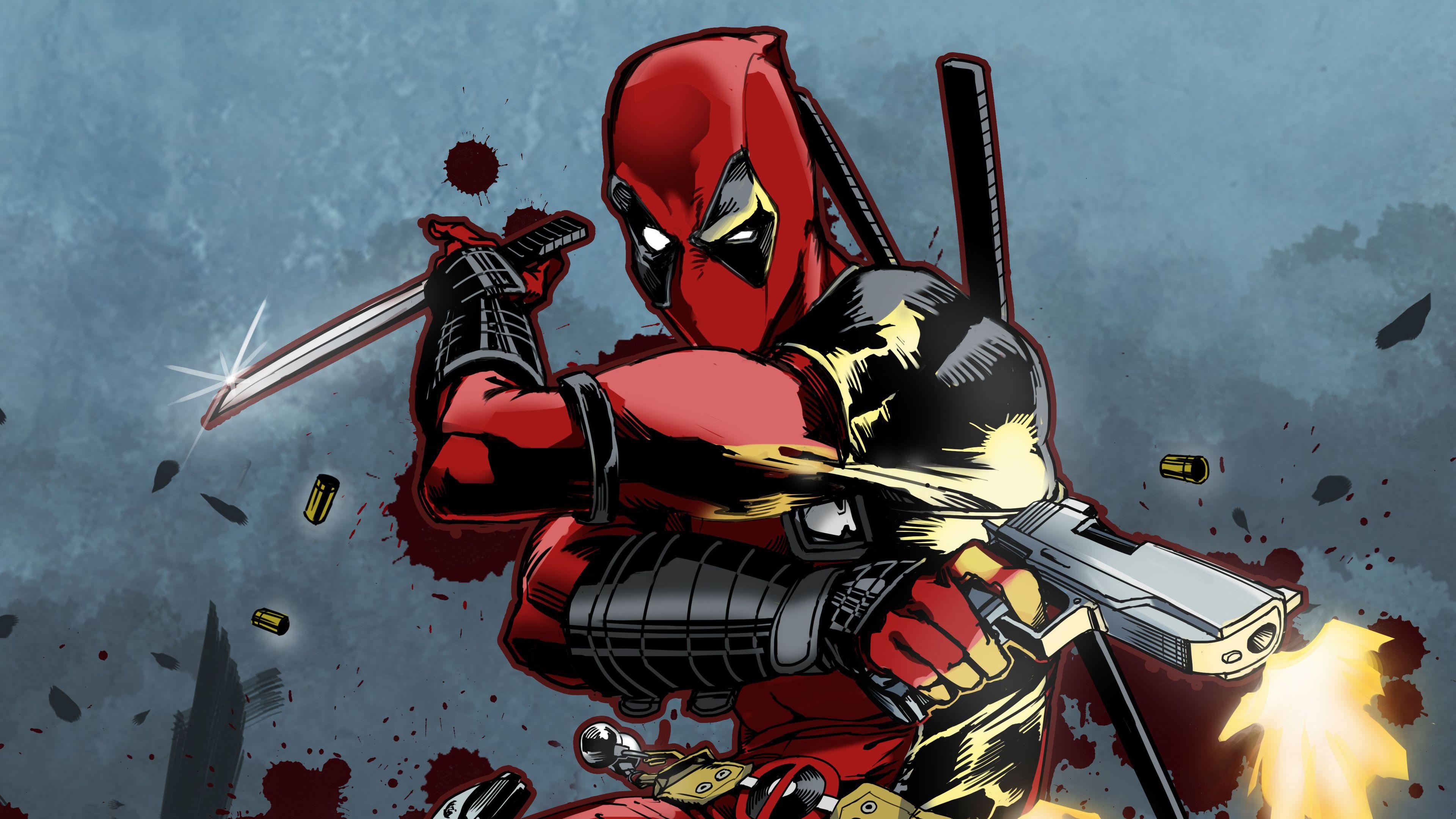 Deadpool New Art 4k Superheroes Wallpapers Hd Wallpapers Digital Art Wallpapers Deadpool Wallpapers Artwork Wallpa Deadpool Wallpaper New Art Art Wallpaper