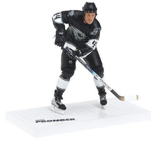 "McFarlane Toys 6"" NHL Series 12 - Chris Pronger - Black Jersey by McFarlane Toys. $11.99. Presented by McFarlane toys. Measures 6"" tall. Recommended age range from 5 years and above. Features sports picks figure. From the Manufacturer                McFarlane Toys is proud to present our twelfth series of NHL Sports Picks figures. There was a tremendous amount of player movement in 2005, which enabled us to put together a lineup of Sports Picks figures updated to..."