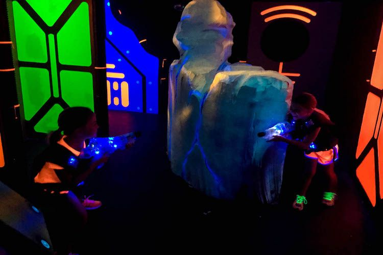 Lazer Kraze is known for its multilevel laser tag course, trampoline park and arcade. It's guaranteed family fun at Lazer Kraze!
