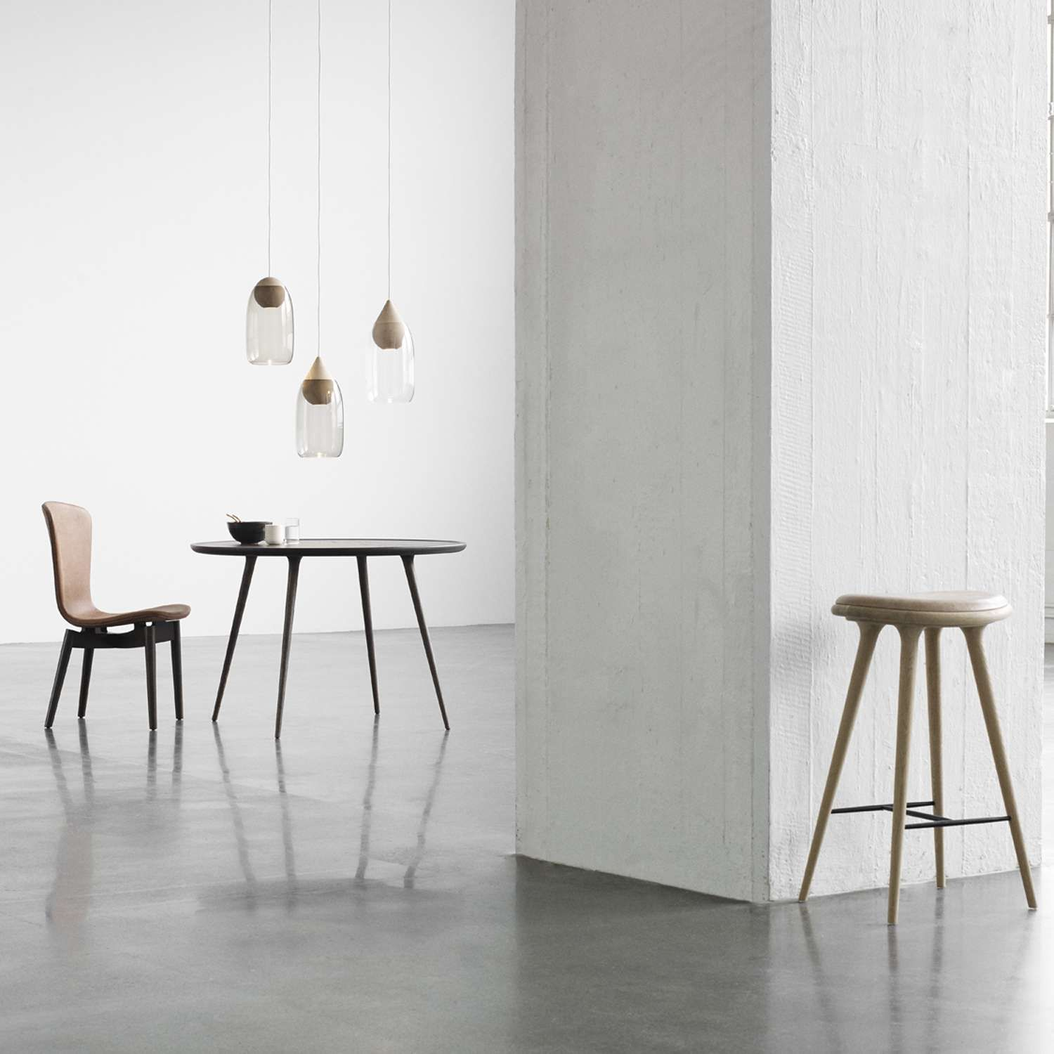 Photo of Premium Space Stool, High by Space Copenhagen from Mater