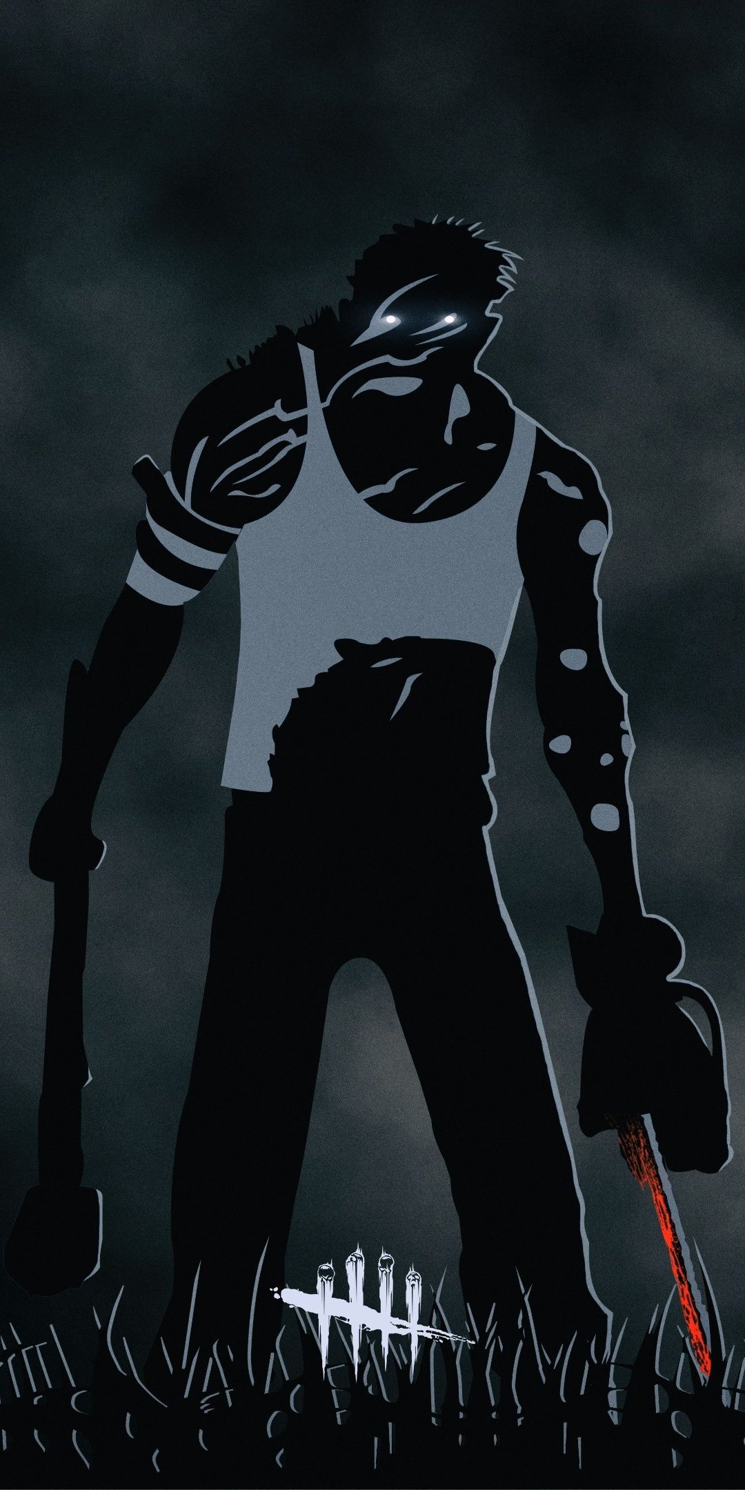 Artwork, minimal, video game, Dead by Daylight, 1080x2160
