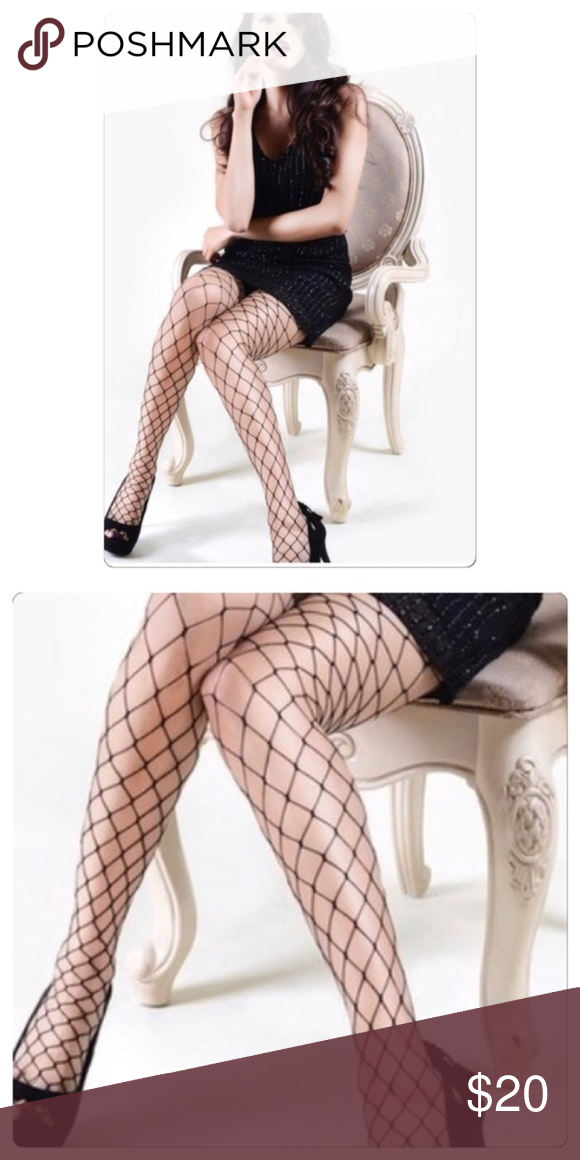 4bbbd101c34 Large Gauge Fishnet Pantyhose These large gauge Fishnet panty hose is  perfect to wear with something sexy or under your hole jeans.