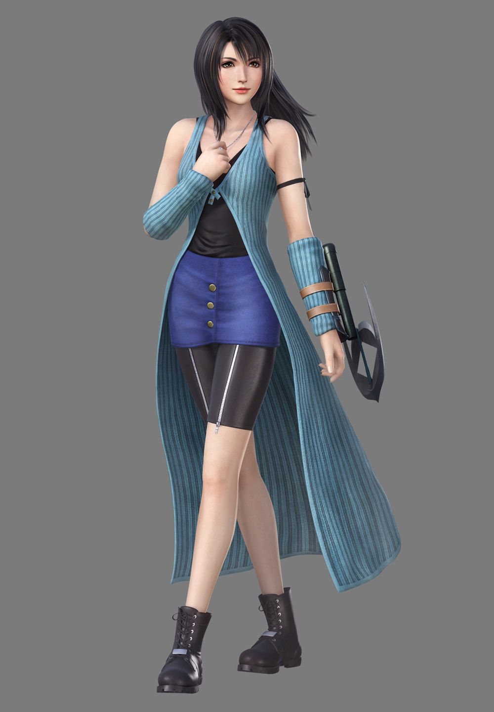Rinoa Timber Resistance I Outfit From Dissidia Final