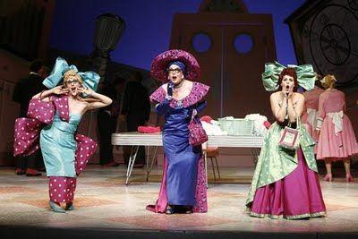 Massenet's Cendrillon, New York City Opera, set in the 1950s.