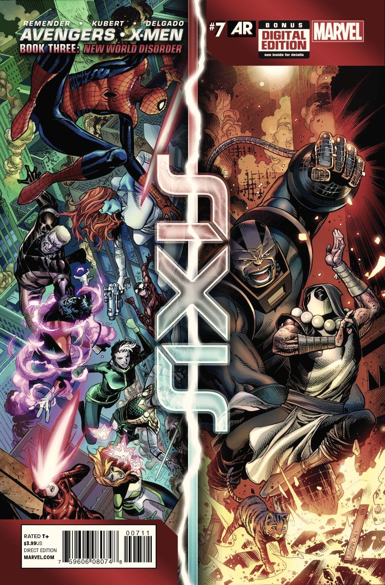 AVENGERS & X-MEN: AXIS #7 First Look at AVENGERS & X-MEN: AXIS #7 - Comic Vine