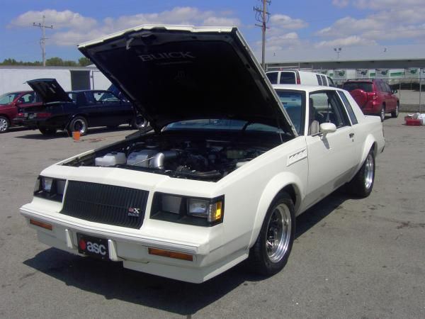 The White Gnx Buick Grand National Grand National 1987 Buick Grand National