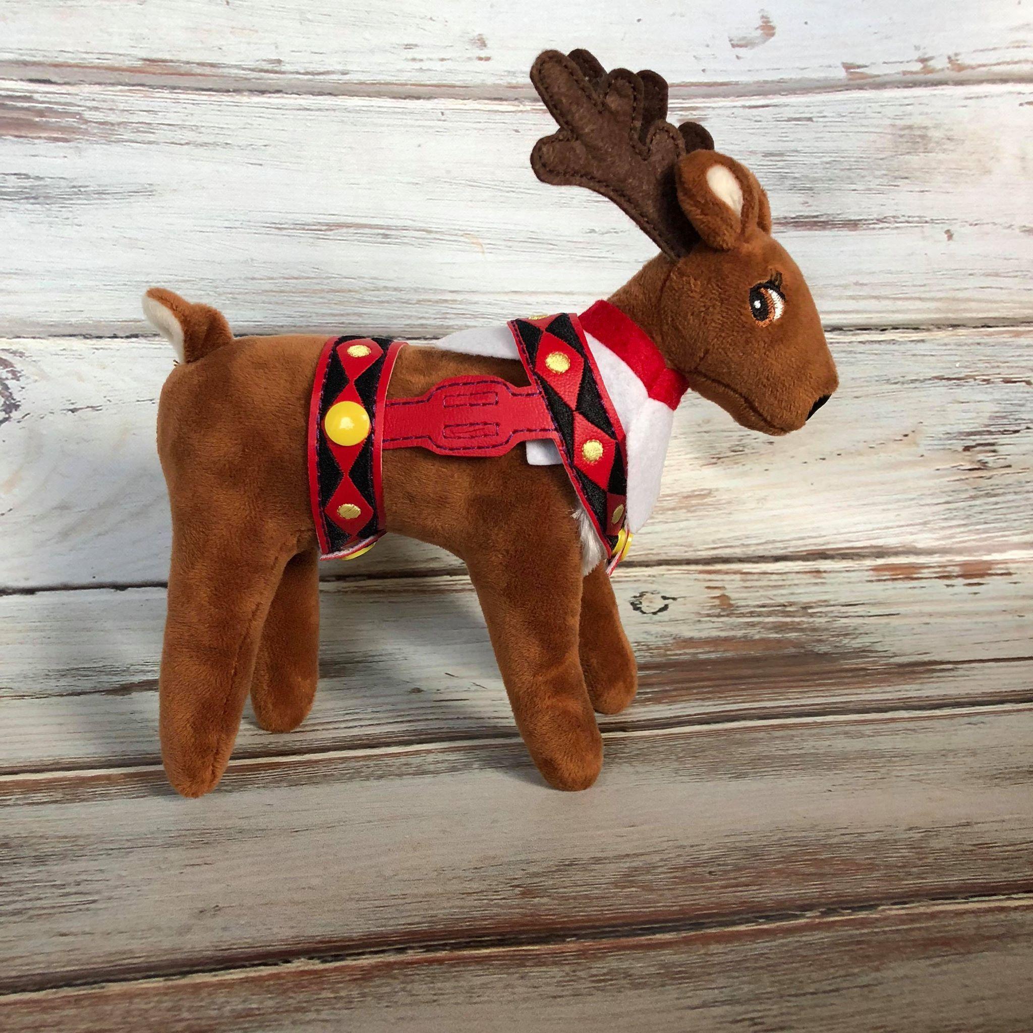 Elf's Reindeer Harness Elf pets, Reindeer, Elf