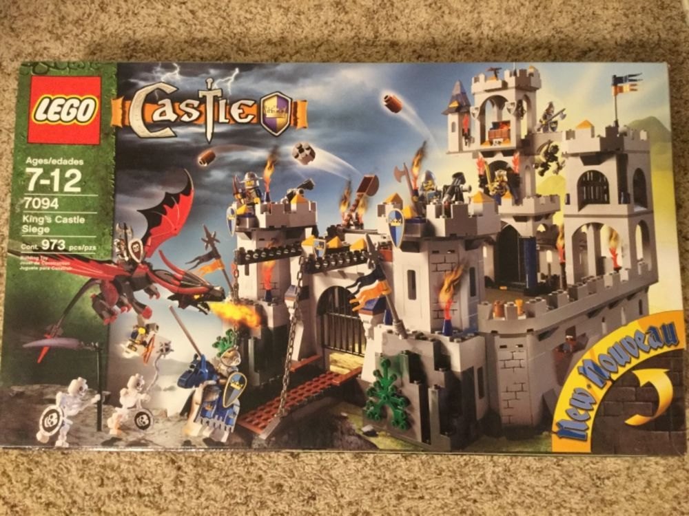 Lego Castle Kings Castle Siege 7094 100 Complete With Box And