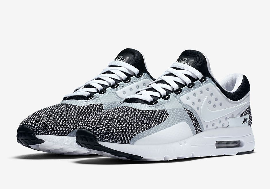 quality design 51d45 ea8c3 This Oreo Colorway Of The Nike Air Max Zero Has Just Released