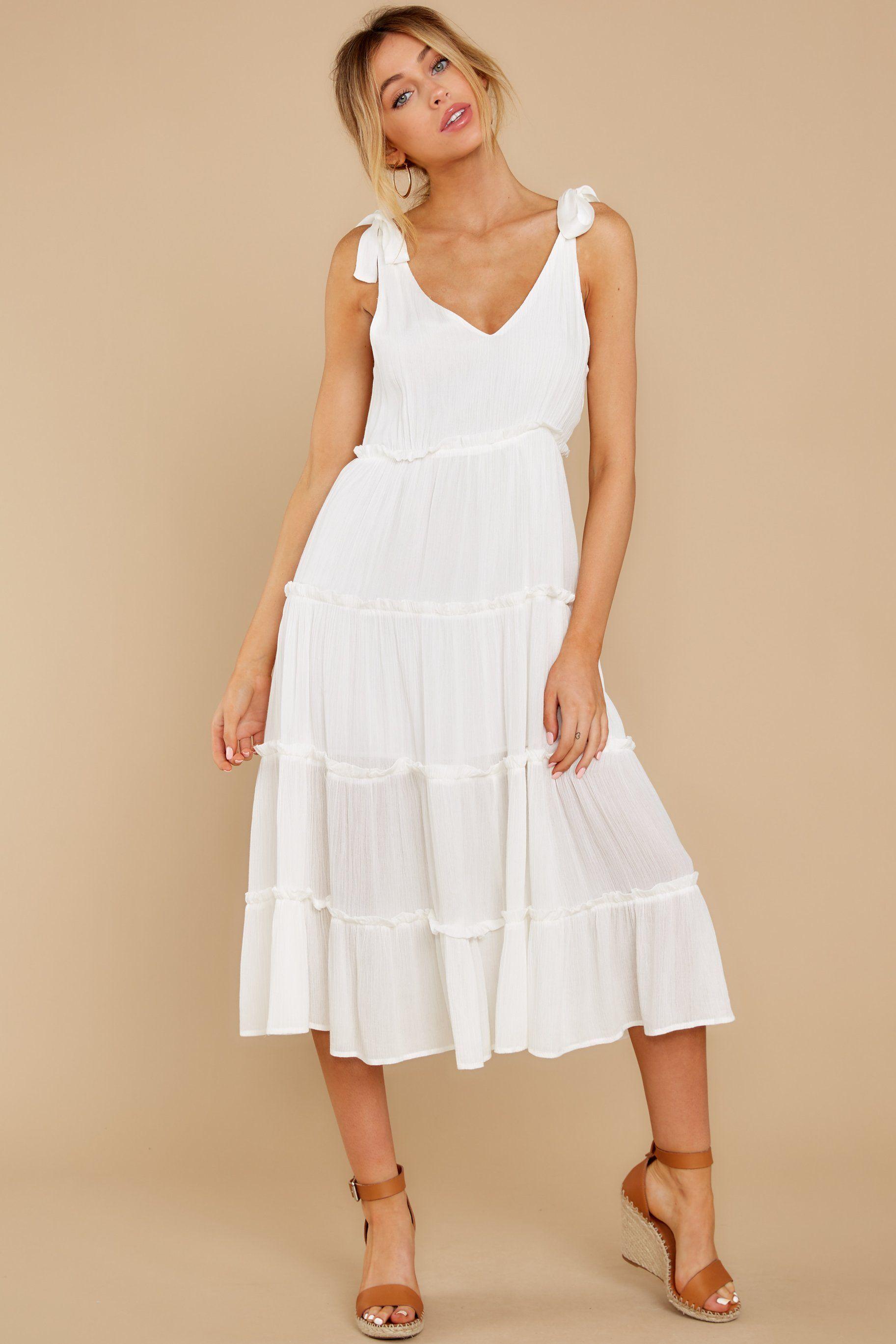 In Full Swing Ivory Midi Dress Ivory Midi Dresses Midi Dress Casual Midi Dress [ 2738 x 1825 Pixel ]