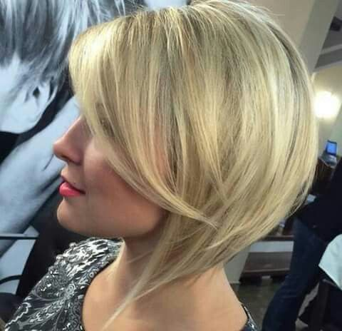Image result for Short Stacked Bob ageless