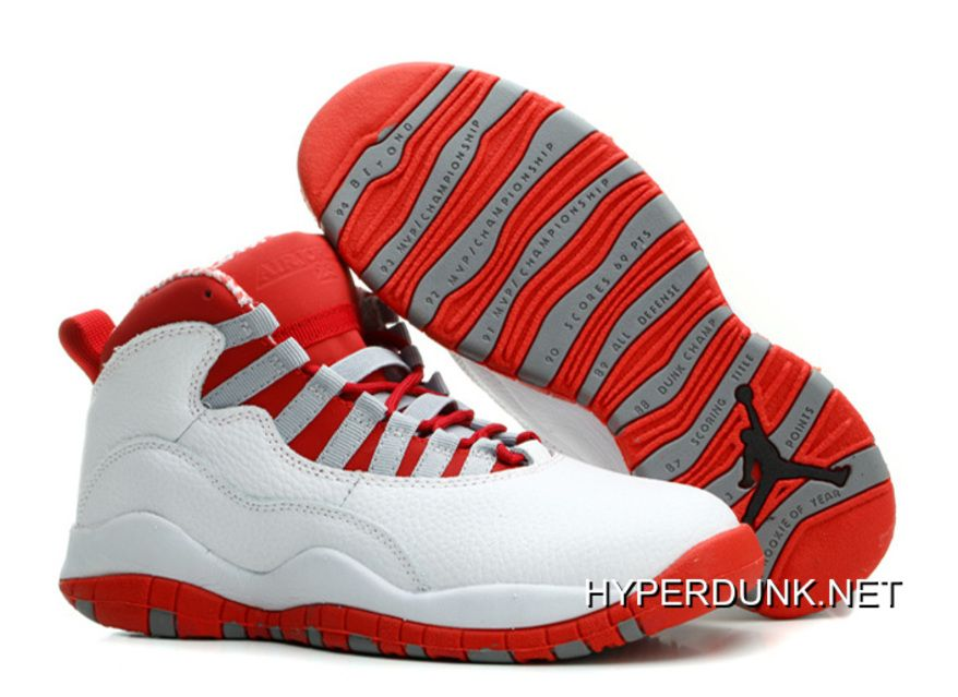 211acf87f4f1 nike air jordan 10 retro chicago whitevarsity red black 2019 new