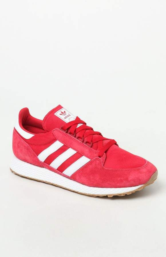 adidas Forest Grove Red Shoes  6c3b11604