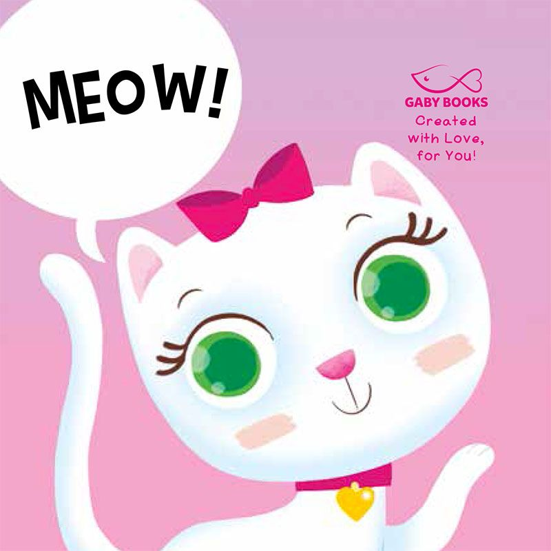 Where is Meow? Page after page children will love to look for and find this fun (but rascal!) friend!