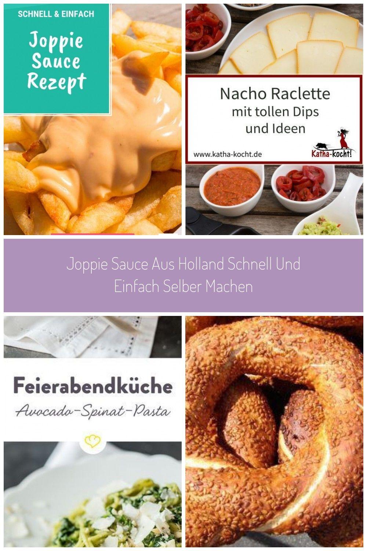 Joppie Sauce ist ein Klassiker aus den Niederlanden und schmeckt nicht nur zu Pommes hervorragend.