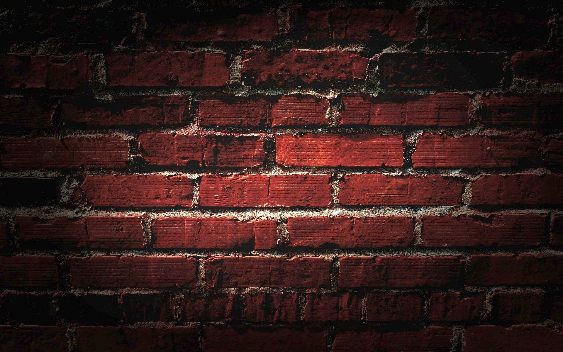 Awesome ultra hd bricks wall ultra hd abstract for Black 3d brick wallpaper