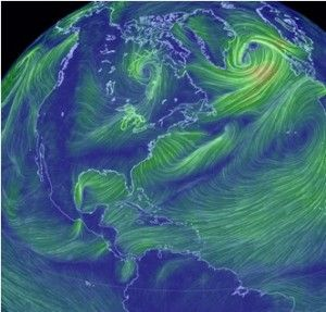 Live Earth Wind Map.Earth Wind And Neon Amazing Live Map Of Earth S Winds Whoa