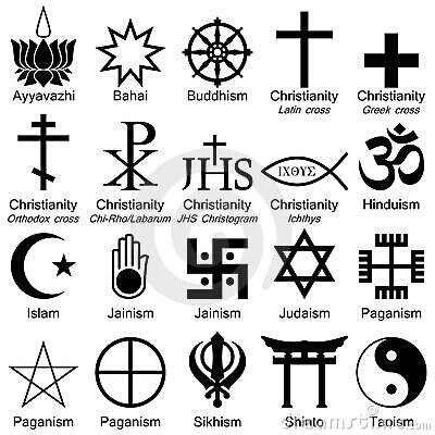Religious Symbols Symbols Alphabets Pinterest Religious