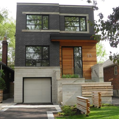 Modern Exterior Wood Siding: Image Result For Brick And Wood Siding