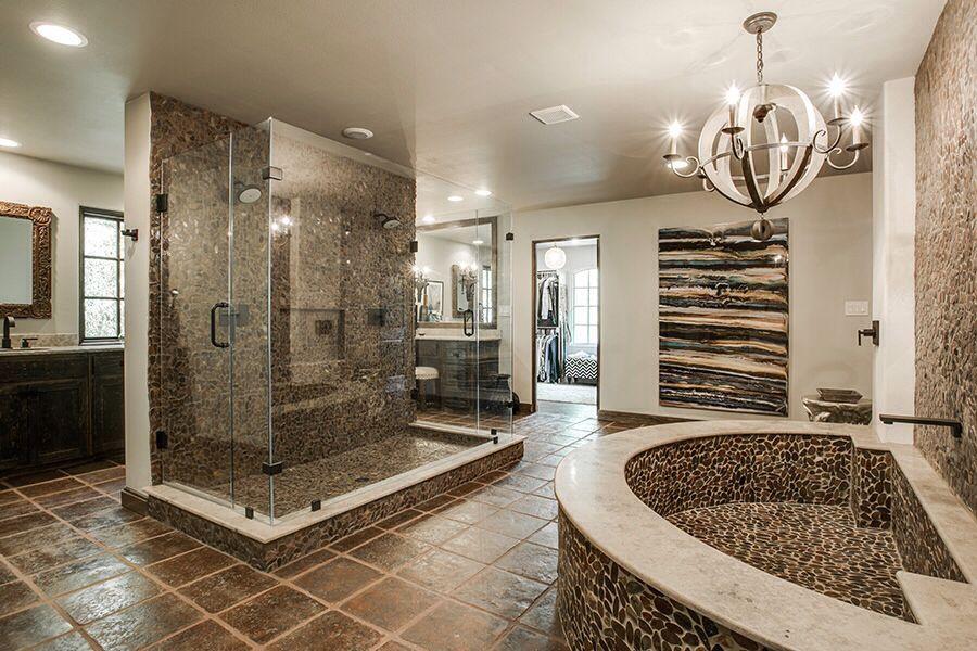 30 Luxury Master Bathroom Design Inspiration In 2020 Rustic