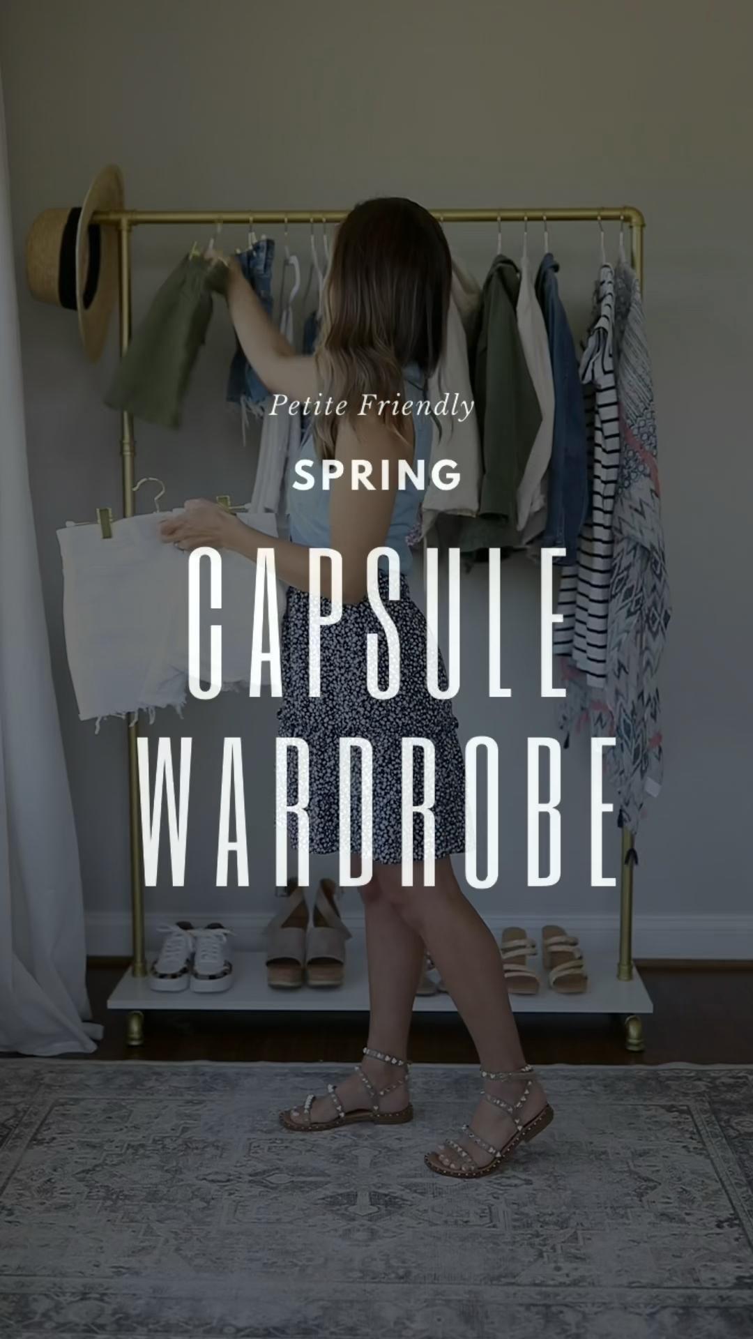 Petite Friendly Spring Capsule Wardrobe