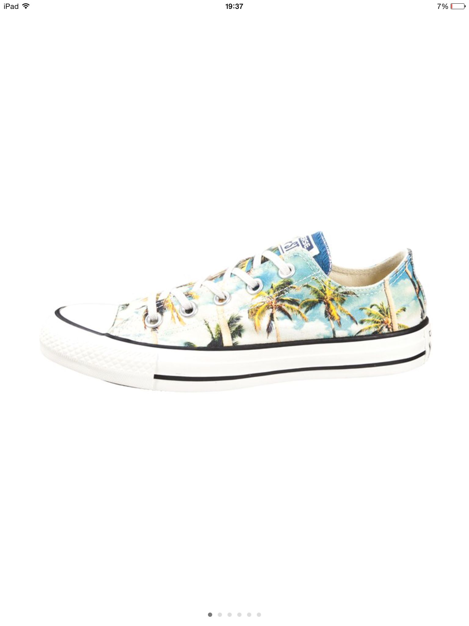 216416bd96c Converse All Star Chuck Tailor Palm Trees Summer Shoes
