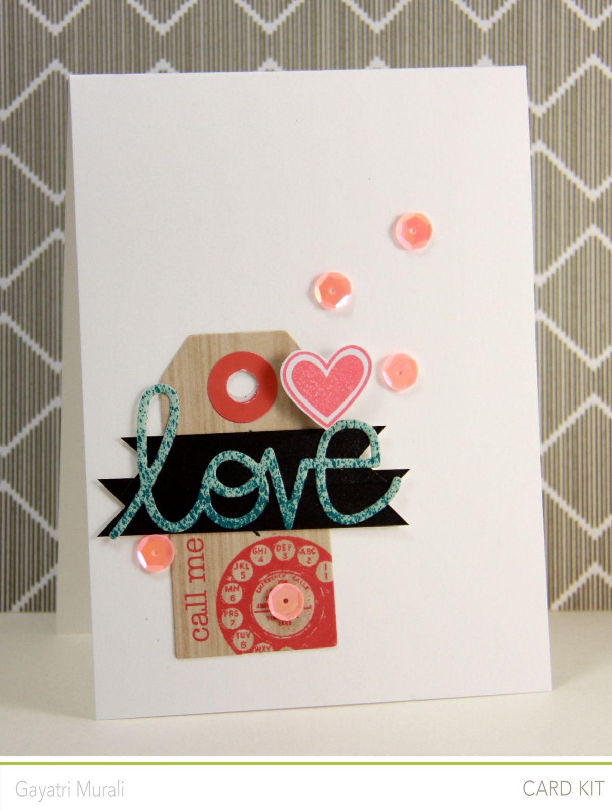 Handmade by g studio calico april kis revealed cards i love