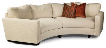 Modern Round Sofa Clip Curved Sofa Contemporary Sofas