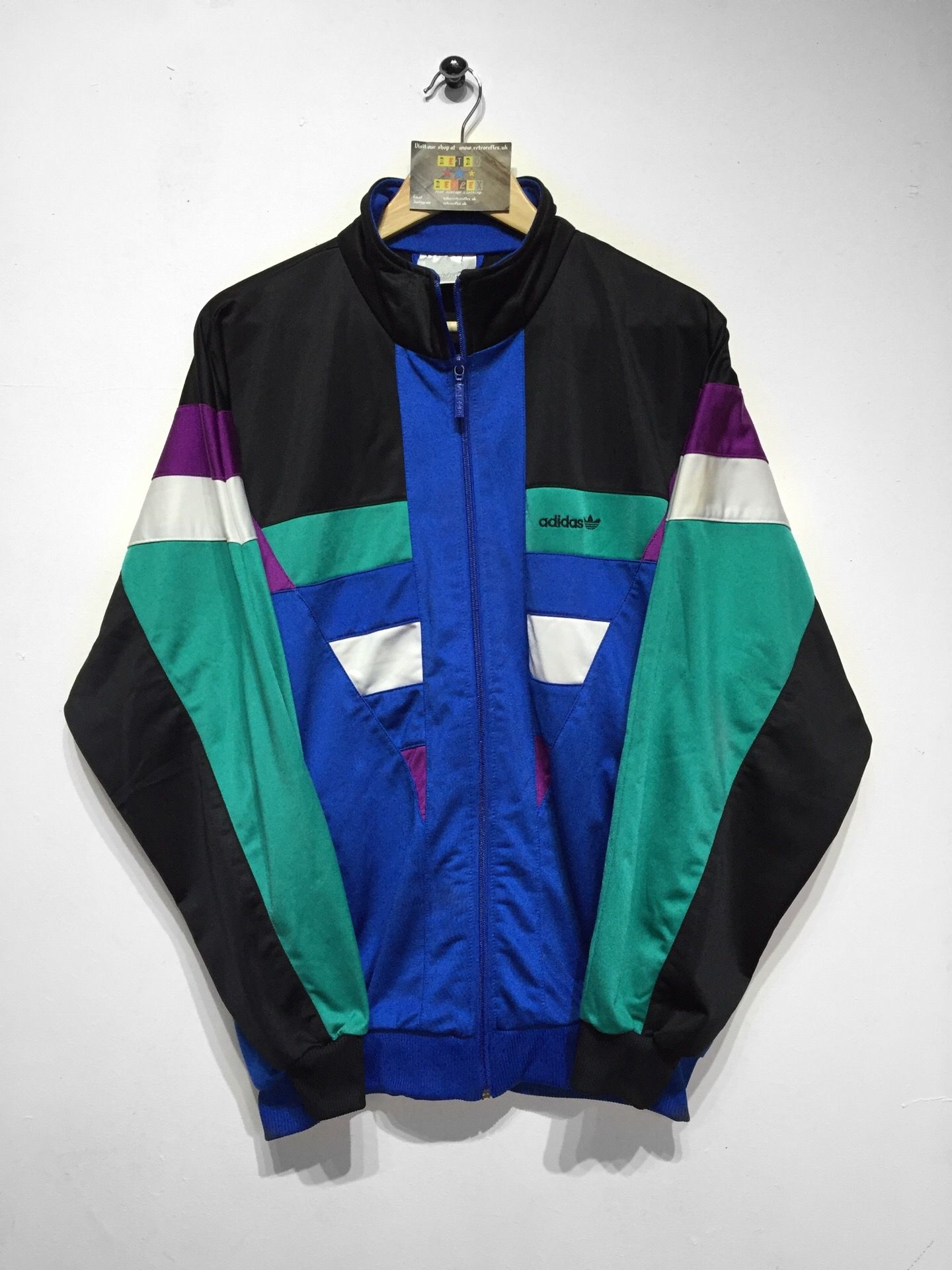 Vintage Adidas 80's Made In WEST GERMANY Jacket Jumper Top