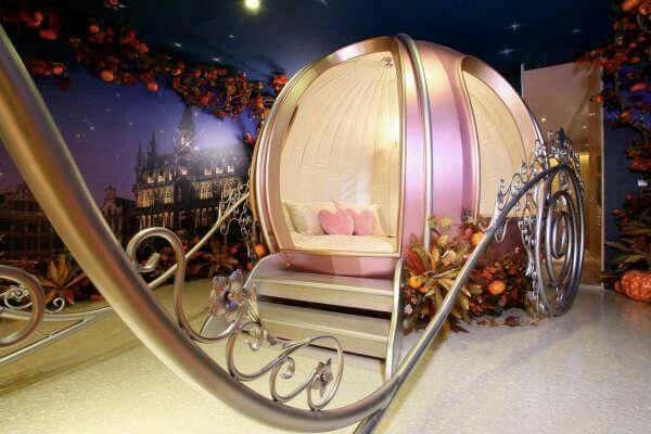 Letto Carrozza Disney : Letto carrozza principesse disney world letti per bambini della
