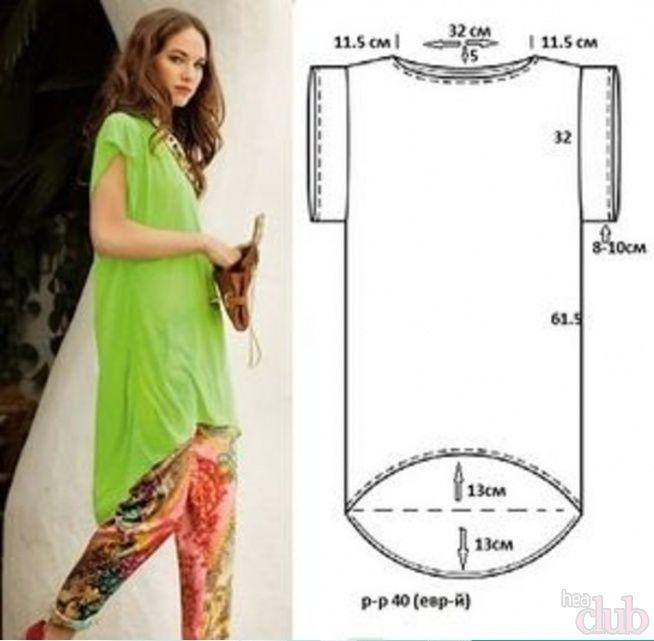 Модели платьев с выкройками и схемами для полных