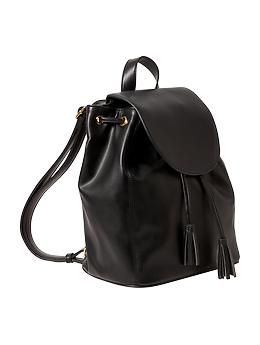 Women S Faux Leather Backpack Purse Old Navy