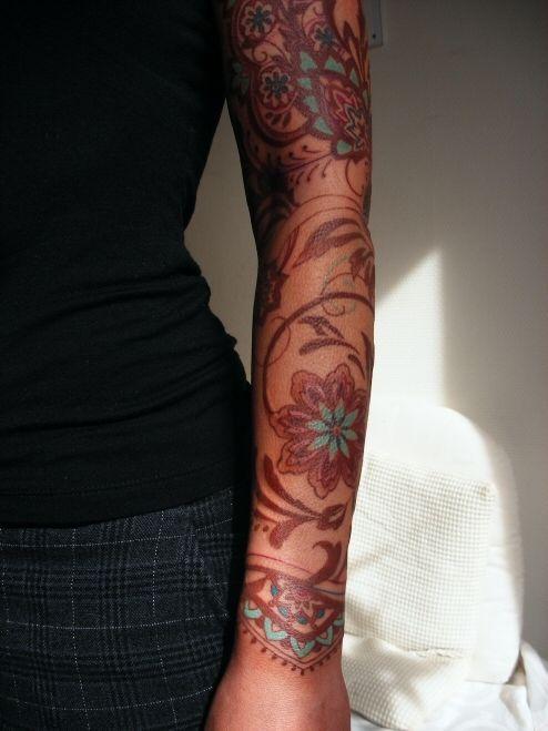 Brown And Blue Tattoo Brown Tattoo Ink Ink Tattoo Blue Tattoo