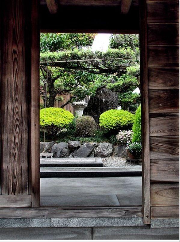Doorway to Japanese Garden