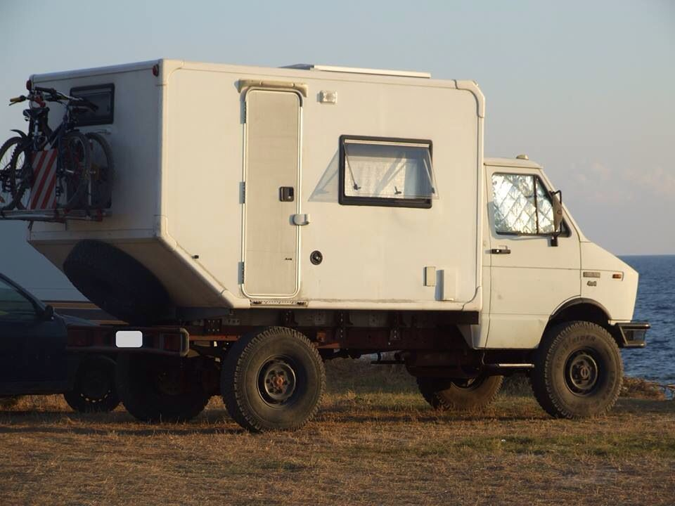 Iveco Daily 4x4 | Furgo | Recreational vehicles, Expedition vehicle