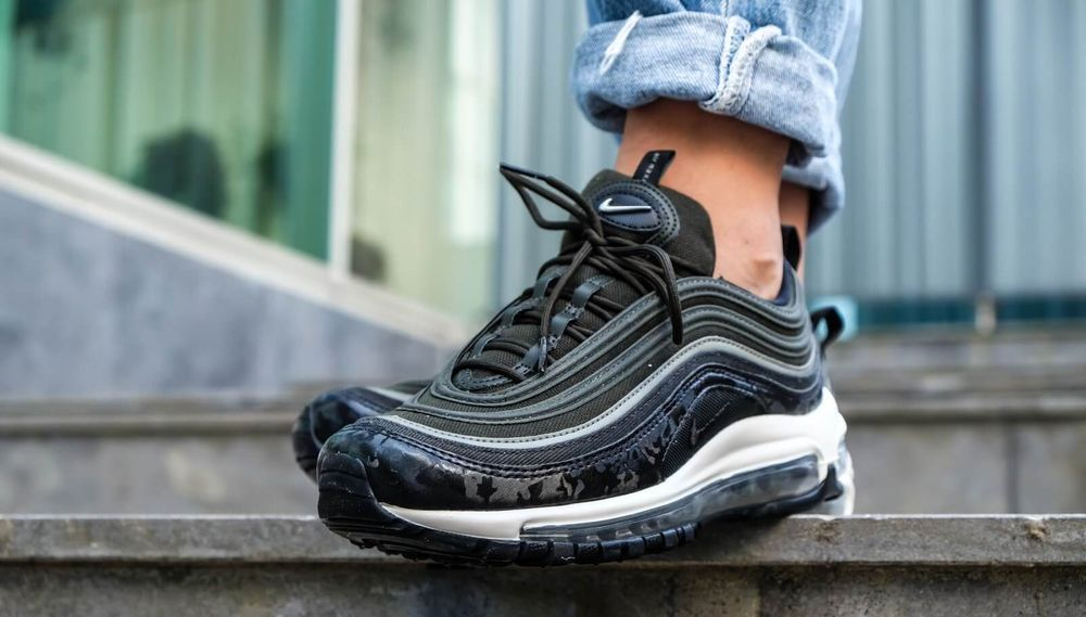 029ebb03 Nike Air Max 97 PRM | Sequoia/Stucco/Bone/Black | Womens Trainers ...