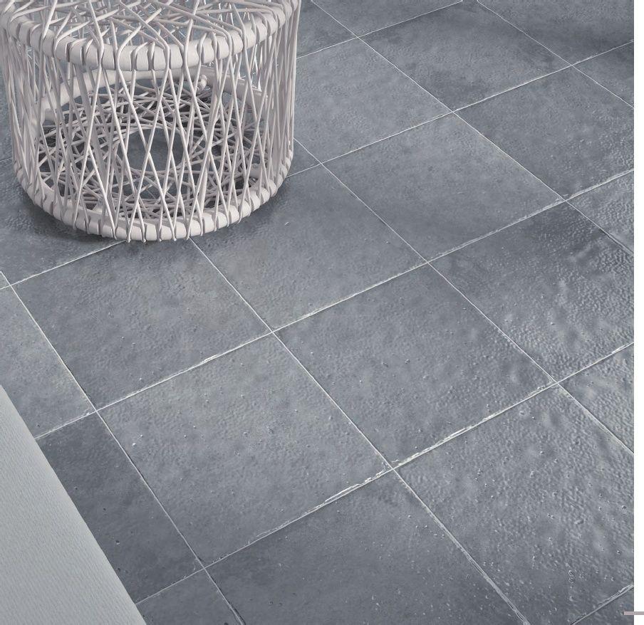 Grey 33.5 X 33.5cm Outdoor / Patio Ceramic Tile.