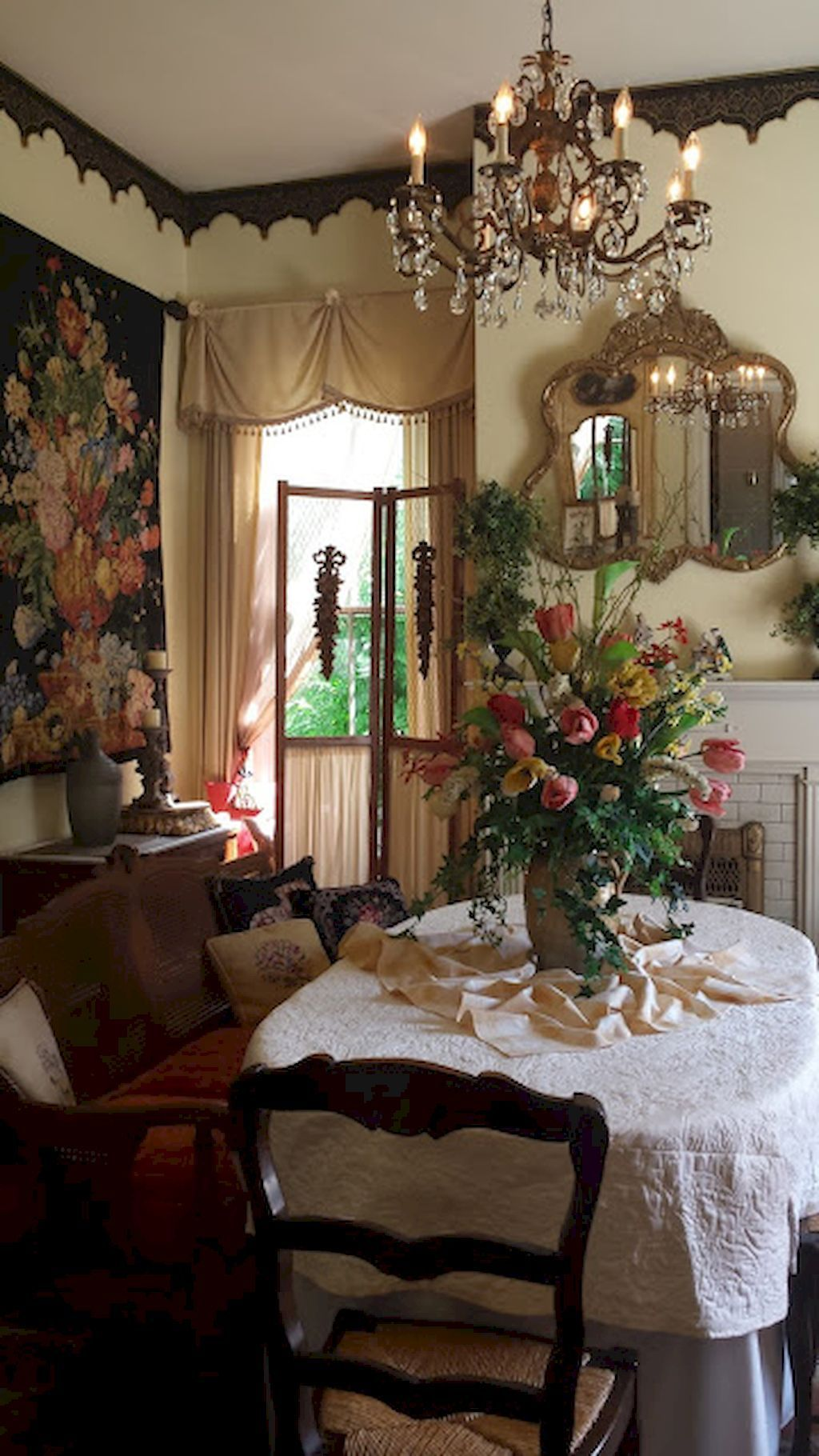 French Country Dining Room Decor Ideas (45