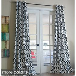 Softline Sahara Rod Pocket 120 Inch Curtain Panel By