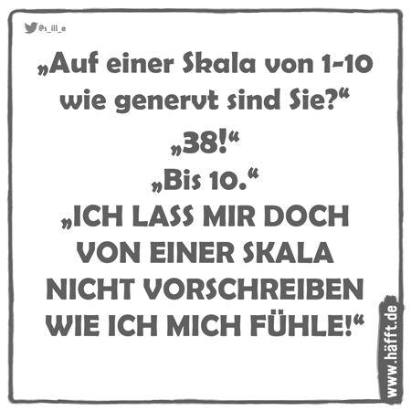 """Die besten """"Auf einer Skala von 1 bis 10""""-Witze · Häfft.de"""