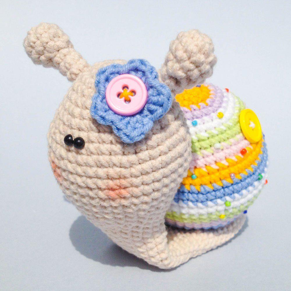 Crochet dama caracol - libre amigurumi patrón | Amigurumi ...